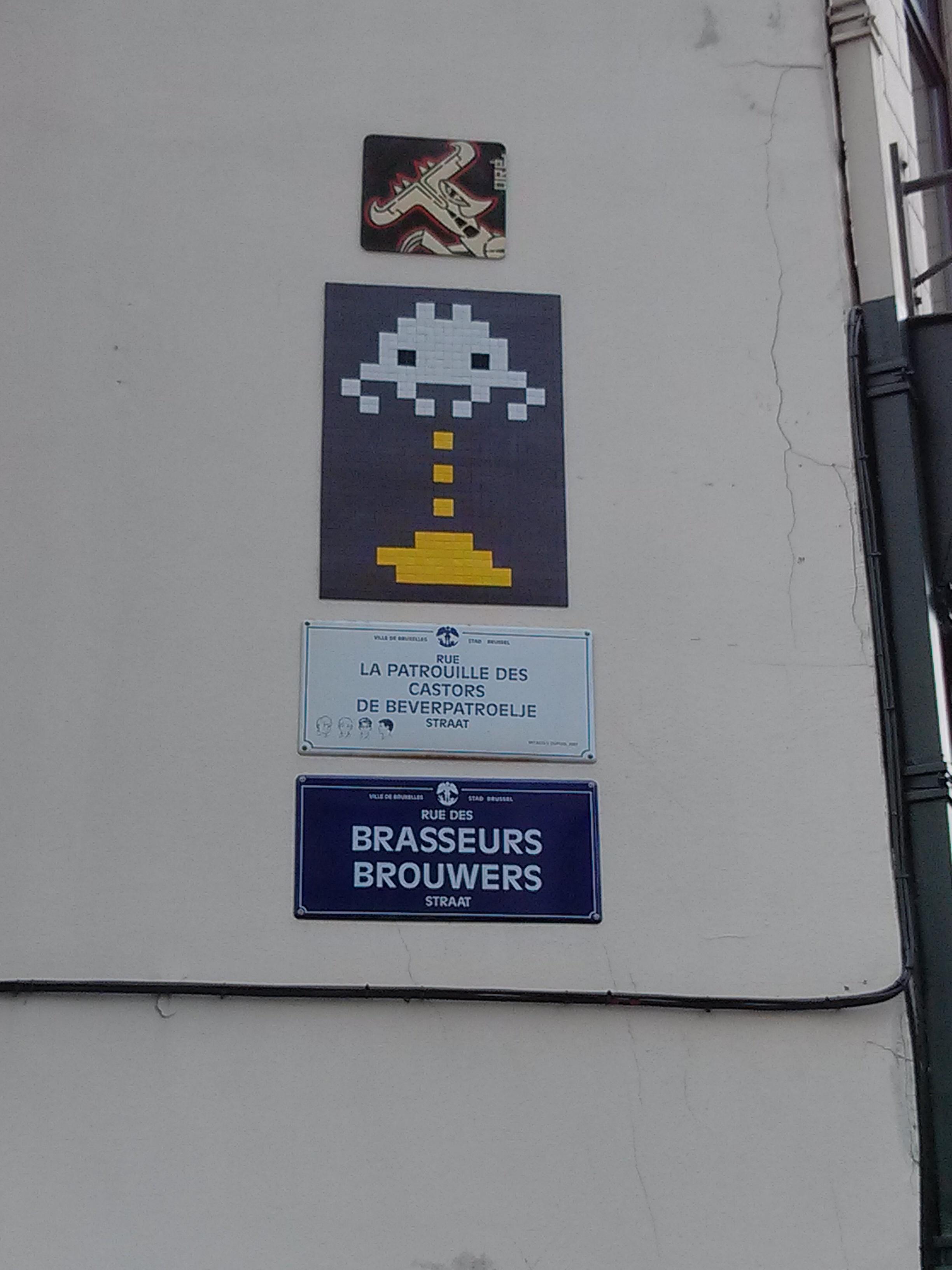 Bruxelles - Place du Manneken-pis - 1/11/2013
